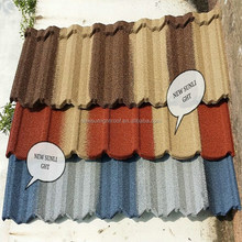 Chinese Style Aluminum Corrugated Stone Coated Metal Roofing Tile