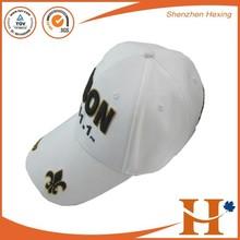 100% cotton 6-panel baseball cap