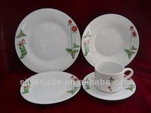 cheap bulk ceramic dinner plate set