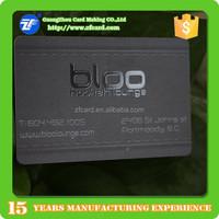 Letterpress plastic business cards cheap