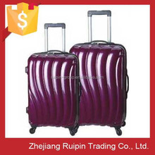 2014 high quality abs + pc film luggage