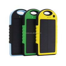 2015 New design Portable universal solar charger, Solar Power Bank, Sun Power for Mobile Phone/IPhone/IPad