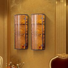 Handmade artificial shift gate pulley sliding door wardrobe furniture