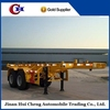 High quality 2-3 axle skeleton container semitrailer for sale