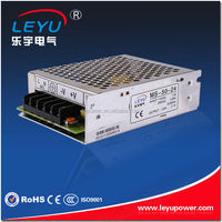 CE High Reliable Mini Size AC To DC 50W 24V 2.1A Regulated Power Supply