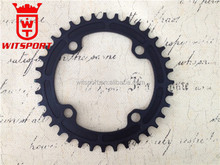 Narrow-Wide Single Drop-Stop 104mm BCD 36T Chainring Oval Chainring with Bolts