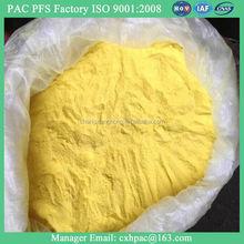 ISO exportation for polyaluminium chloride