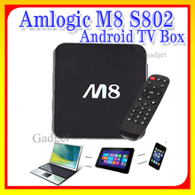 Android 4.4 M8 Amlogic S802 Quad Core TV BoxK, Google Play store