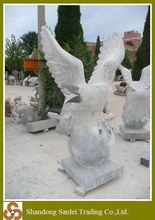 factory directly marble sculpture stone eagle statue
