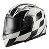 2015 ECE/DOT double visor JX-FF001 fashion ECE racing motorcycle helmet unique design