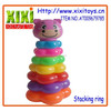 Attractive appearance lovely stacking ring plastic jenga