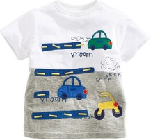 Z87412C 2015 europe design fashion 100%cotton boys tops t-shirt