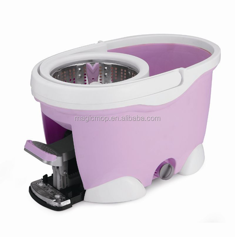 Mop Sink Lowes : 360 spin mop violet with spend less time lowes microfiber super ...