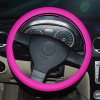 High quality silicone zebra steering wheel covers for golf 6
