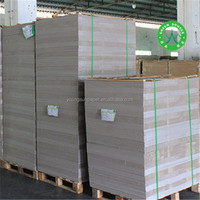 China Manufacturer Grey Board Paper 100% Recycle Pulp Raw Material