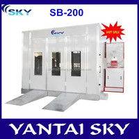 SB-200 hot sale Aibaba China CE approved inflatable spray boot/used spray booth for sale/spray booth