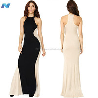Womens Optical Illusion Tunic Party Bodycon Sheath Long Maxi Dress Tops Dresses