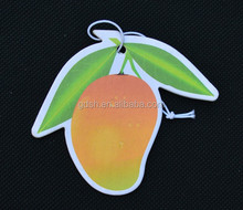 flavors delicate air freshener for car paper air freshener hanging