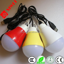 High Brightness and good quality solar led bulb 5w 12v DC