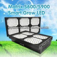 Programmable 2013 Matrix S600/900 660nm 460nm 612nm 3w chip 600W 3W LED grow light