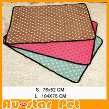 2015 New Products Super Soft Velvet Fleece Pet Mat for Cat Dog Blanket Throws Pet Bed Accessories
