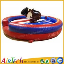 high quality cheap inflatable mechanical bull game for sale