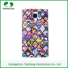 Customized Color Cell Phone Clear PC Case Crystal Clear Transparent Cartoon Flower Back Cover For Apple iPhone6 6s for youngs