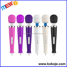 Replaceable Silicone Head 20 Speed Love Magic Wand Personal Massager