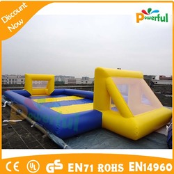 hot sale inflatable football pitch,mini football pitch,different size soccer field