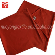 Good and super soft orange microfiber beach bath towel for promotional