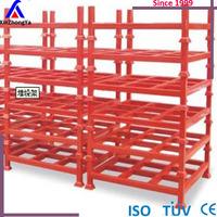 heavy duty galvanized steel cantilever racks for steel lumber or cars