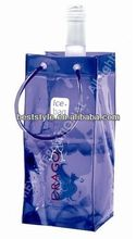 china new design hot selling pvc ice bag with soft handle