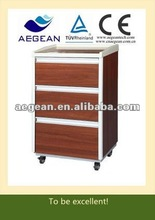 AG-BC004 Hot sales!!! 3-Drawer wooden bedside cabinet