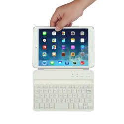 Bluetooth Keyboard for iPad Mini with a Clip-and-go Magnet Keyboard