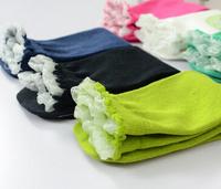 Lanle women lace footie sock korea kid tube sock