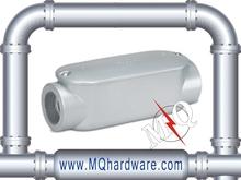 Electrical Metallic Tubing C Type Aluminum Conduit Body