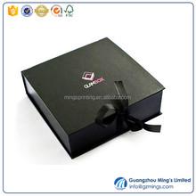 Ribbon Decorative Magnetic Closure Flat Shipping folding jewelry box