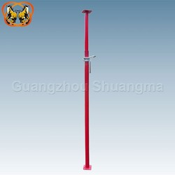 Strong steel shoring prop for construction