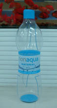 clear pvc inflatable drinking water bottle model for promotion event