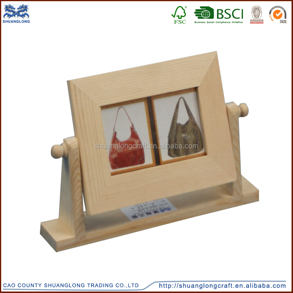 Wholesale factory supply new unfinished wooden photo for Unfinished wood frames for crafts