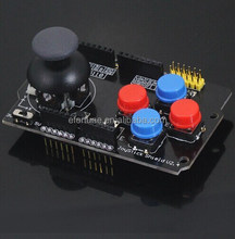 Expansion Board W/ Rocker Button Game Analog Joystick Keyboard Shield Joystick Module & Mouse Function for Uno KSW141