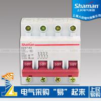 mini switch dz47-63 c45 4p 32a electric generators mini miniature circuit breaker