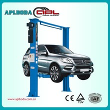 Hot sale 2 post lift 4.0 tons -Hydraulic car lift factory with CE certificate APL-6240E