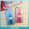 special design liquid flow Cocktail phone case for iphone 6