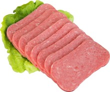 hot sell198g and 340g Canned pork luncheon meat food