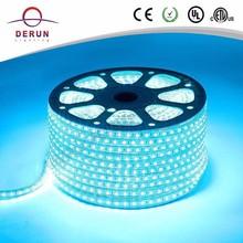 100m PVC long flexible led strip 3528 smd rgb in rolling 220v