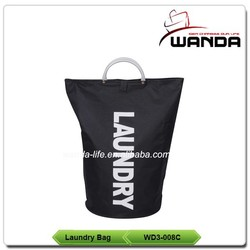 2015 Hot Selling Polyester Round Shaped Laundry Bag