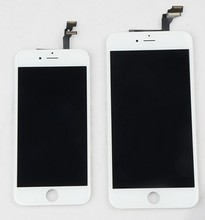 large stock wholesale mobile screen for iphone 6 lcd with touch 4.7 inch 5.5 inch black white