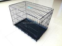 galvanized iron dog cage