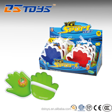 Custom OEM cute plastic shaped suction cup ball toy for children